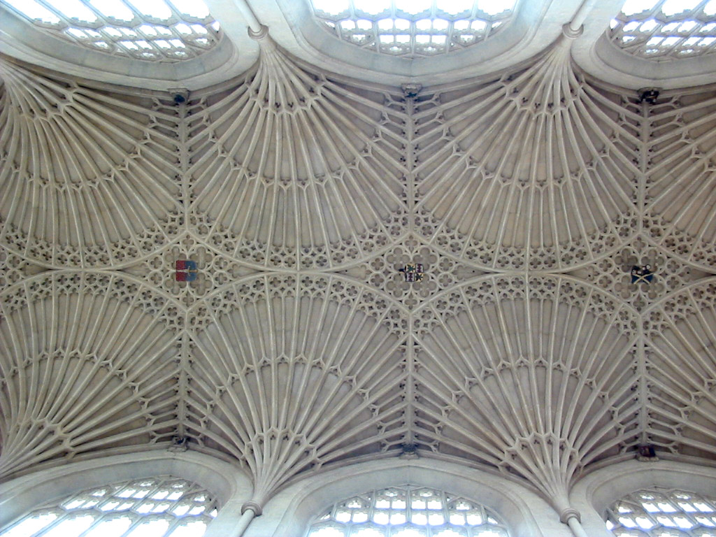 Fan vaulting in Bath | cleve callison's blog